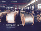 ASTM A 475 Galvanized Guy Wire / Steel Cable Wire With Excellent Anti Rust Performance