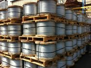 ประเทศจีน EHS Wire Zinc Coated Overhead Ground Wire / Overhead Earth Wire For Atomic Reactor Buildings โรงงาน