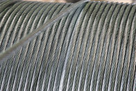 ประเทศจีน High Strength Galvanized Steel Overhead Ground Wire Strand 1000 Mpa-1650 Mpa โรงงาน