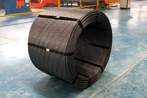 Railway PC Steel Wire Strand As Per ASTM A416 Grade 270 For Construction